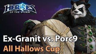 ► Heroes of the Storm: Ex-Granit Gaming vs. Porc9 - All Hallows Cup