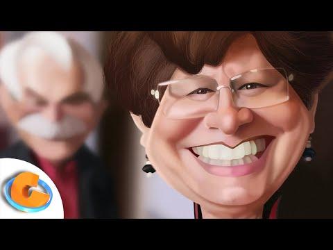 Tina Casanova (Caricature Speed Painting) por Israel Oliveras Horta