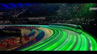 Игры военных стартовали в Ухане. Церемония открытия. Такому зрелищу позавидует даже Олимпиада