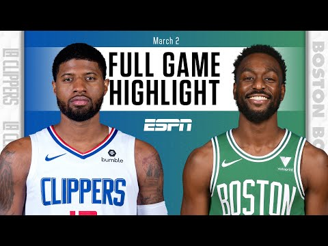 LA Clippers vs. Boston Celtics [FULL GAME HIGHLIGHTS] | NBA on ESPN