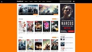 Кино шаблон FilmsPlay для онлайн кинотеатров на uCoz
