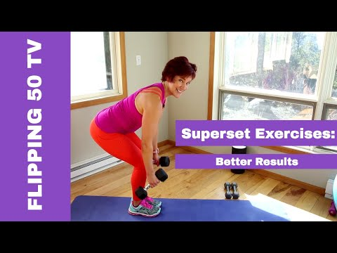How to Superset Exercises for Better Results at Every Age
