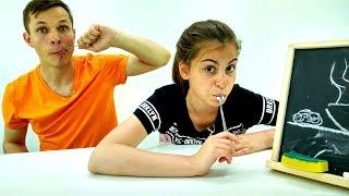 Смешное видео - Челлендж Крокодил - игры для девочек