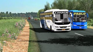 Games - [Unbelievable Bus chasing and racing] between 2 Indian drivers   Euro Truck Simulator 2
