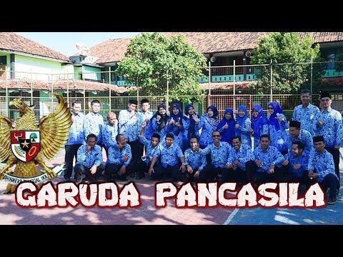 Garuda Pancasila Bersama MTsN 2 Sukabumi 2019