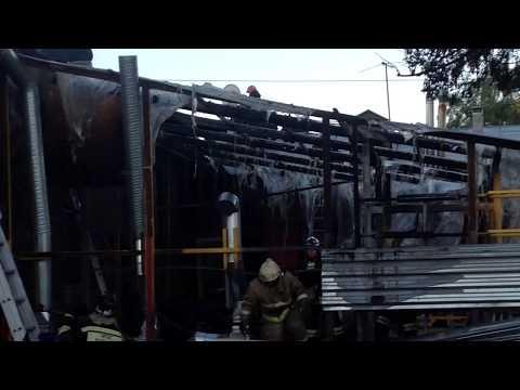 При пожаре в кафе «Мокроусов» в Нижнем Новгороде пострадала женщина