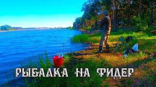 Первая рыбалка на фидер на реке Чусовая видеотчет