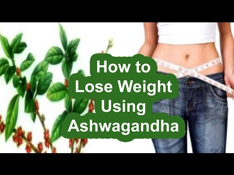 How to Lose Weight Using Ashwagandha