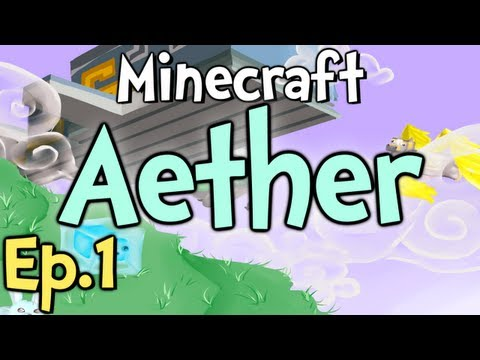 """Minecraft - Aether Ep.1 """" Here We Go Again! """""""