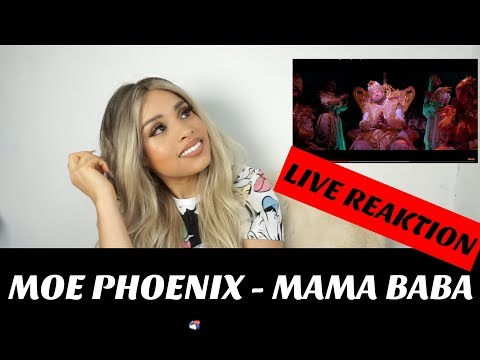 Moe Phoenix - MAMA BABA (prod. by Unik) live Reaktion |Jennyfromtheblog