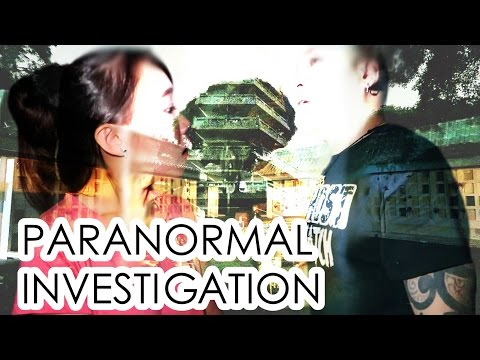 Paranormal investigations with Ghost Files Singapore | EVALEELIN
