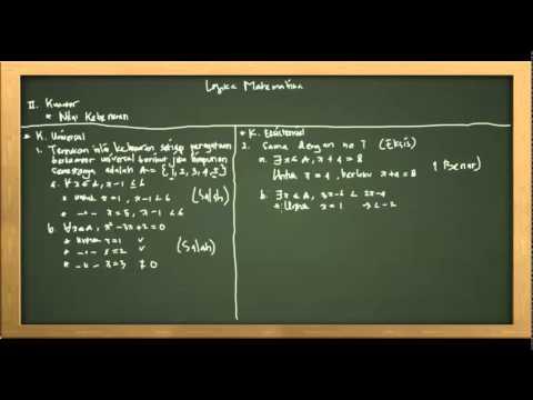 Belajar Matematika : Materi dan Contoh Soal Logika Matematika