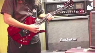 BC Rich Mockingbird ST Guitar Trans Red demo - Nevada Music UK