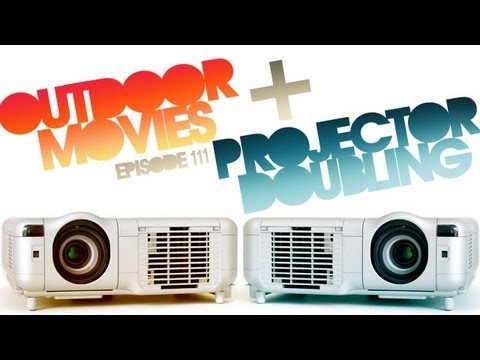 CMD 111: Outdoor Movies and Projector Doubling