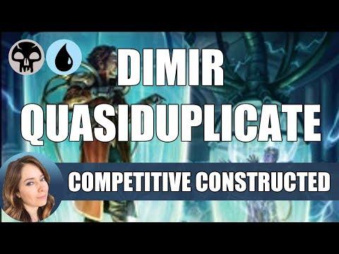 Dimir Quasiduplicate – Standard Deck / MTG Arena