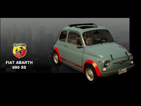 Driver San Francisco - Fiat Abarth 695 SS etto Corse - YouTube