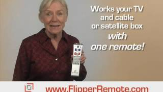 Flipper Simple TV Remote | Flipper Big Button Remote
