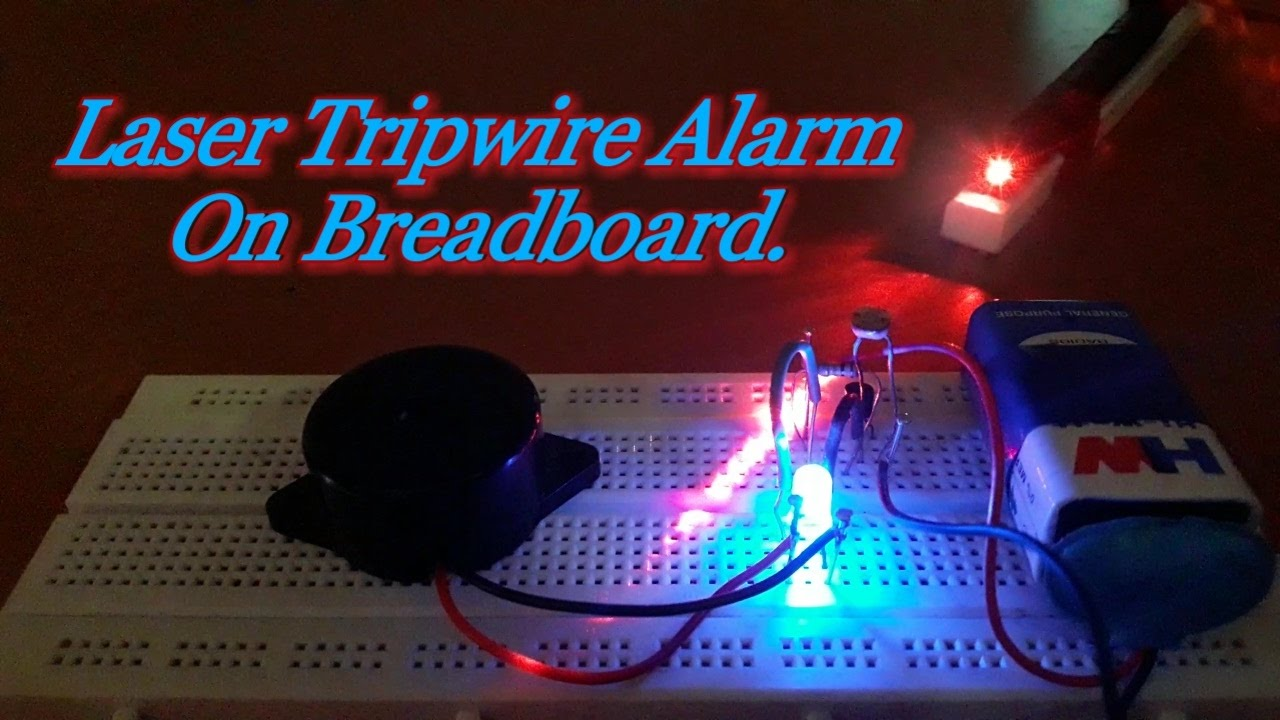 How To Make A Burglar Alarm Circuit For Your Home Security Circuits
