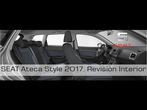 seat ateca style 2017 revision interior youtube. Black Bedroom Furniture Sets. Home Design Ideas