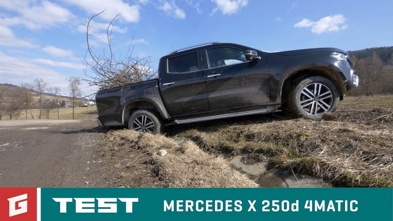 Mercedes X 250d 4MATIC - TEST - GARAZ.TV - Rasto Chvála - YouTube