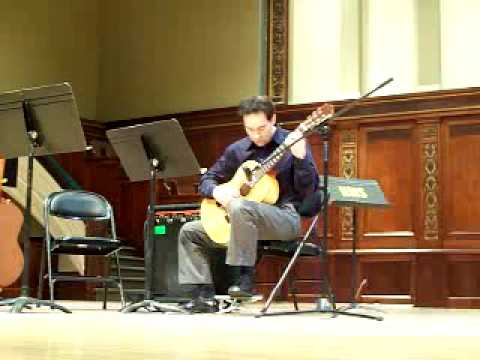 James DeFelice performs at the Hochstein School of Music and Dance