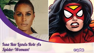 Issa Rae Lands Role As Spider-Woman In The Sequel To 'Spider-Man: Into The Spider-Verse'