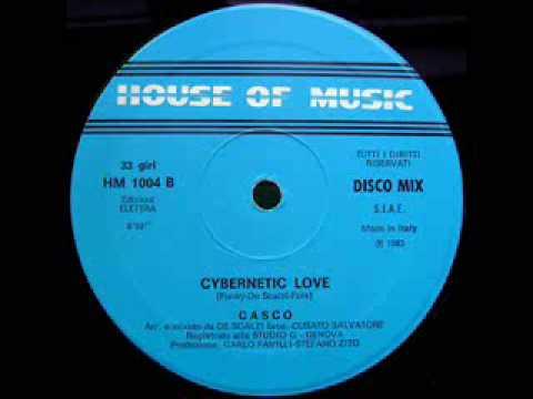 """Casco - """"Cybernetic Love (Instrumental)"""" (1983)"""