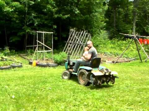Gilson Montgomery Wards 16hp Hydrostatic Tractor