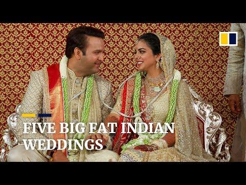 Five of the most-lavish big fat Indian weddings