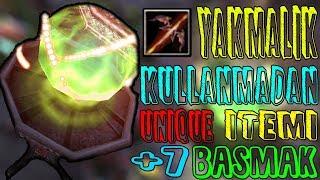 Knight Online Yakmalık Kullanmadan Unique Item +7 BASMAK?