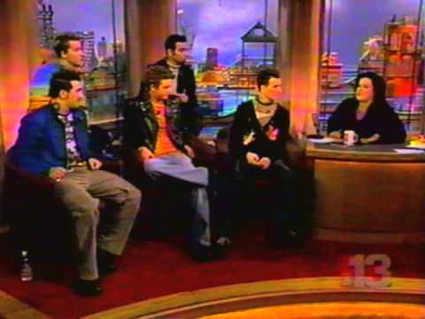 *NSYNC on Rosie O'Donnell Show (Part 1)