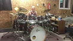 Amateur drum solo