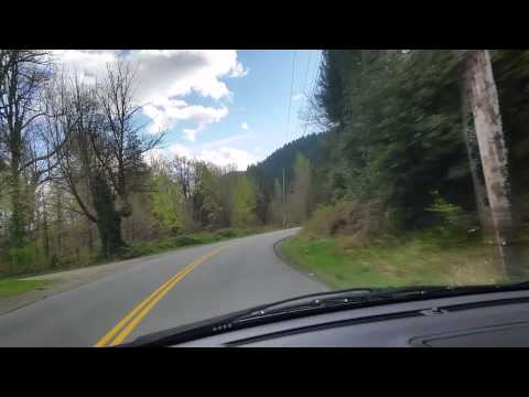 Driving around in the Fraser valley ouside of Mission British Columbia Canada