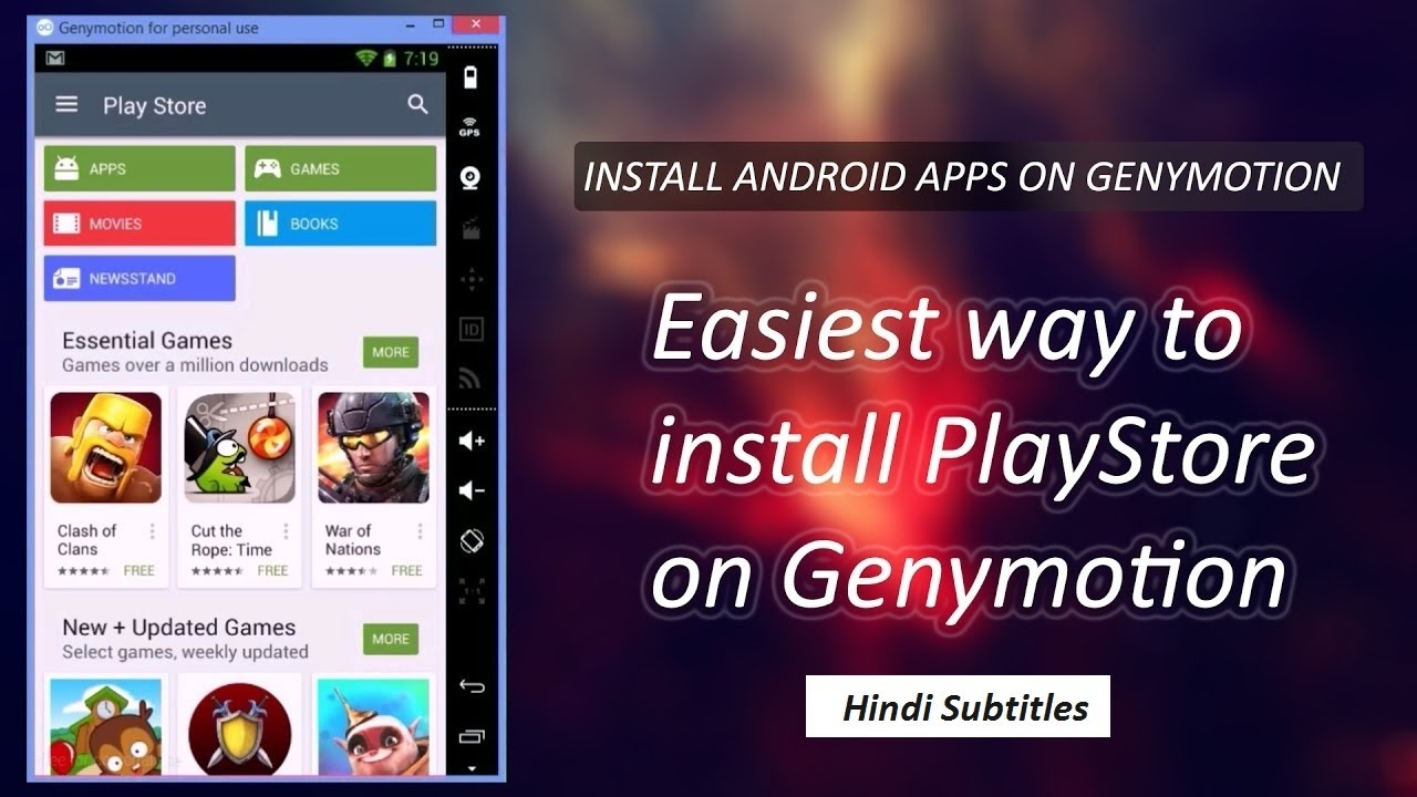 install google play store on genymotion easiest way to. Black Bedroom Furniture Sets. Home Design Ideas