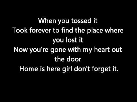 Chris Brown - ill go (Lyrics on screen) karaoke Graffiti