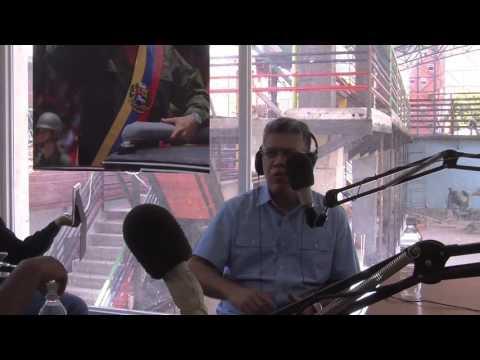 PROGRAMA ESPECIAL CON ROBERT LONGA  SALVADOR SALAS Y ELÍAS JAUA EN RADIO ARSENAL 98.1 FM