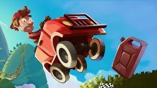 Обзор игры Hill Climb Racing - Классика и точка .