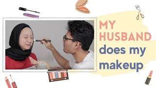 Paul's mental breakdown: MY HUSBAND DOES MY MAKEUP