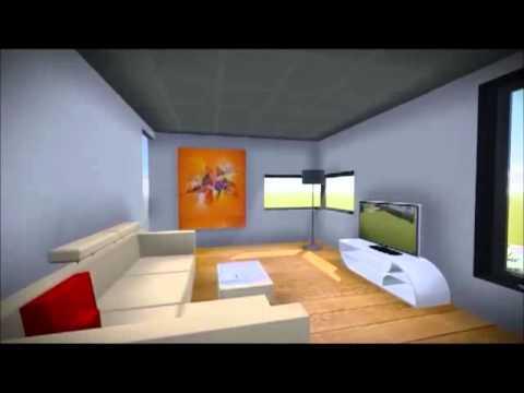 futuristische architektur im null energie haus youtube. Black Bedroom Furniture Sets. Home Design Ideas