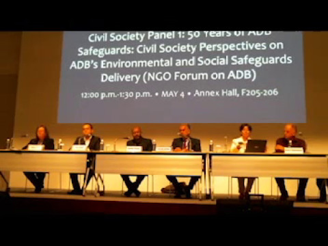 A Civil Society Critique on ADBs Environmental and Social Safeguard Delivery