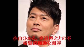 小山ひかる、宮迫博之との不倫疑惑騒動を謝罪 小山ひかる 検索動画 27