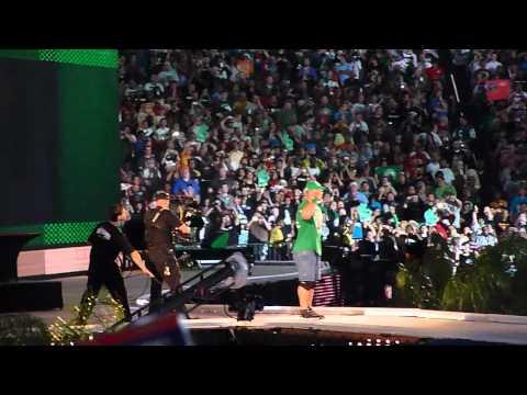 Wrestlemania 28 John Cena Entrance feat. MGK