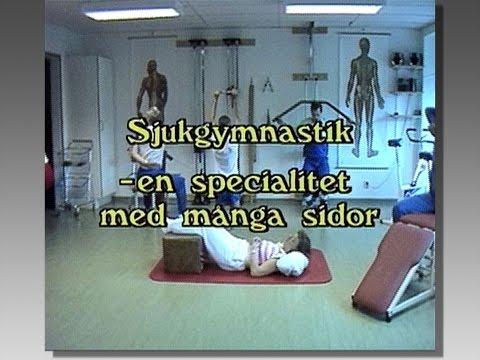 Sjukgymnastik - en specialitet med många sidor - Landstinget Östergötland