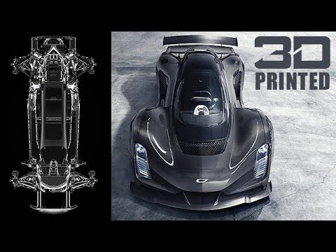 Download Czinger 21C Hypercar Designed by AI and 3D Printed