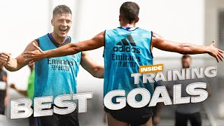 BEST GOALS in TRAINING! | Real Madrid