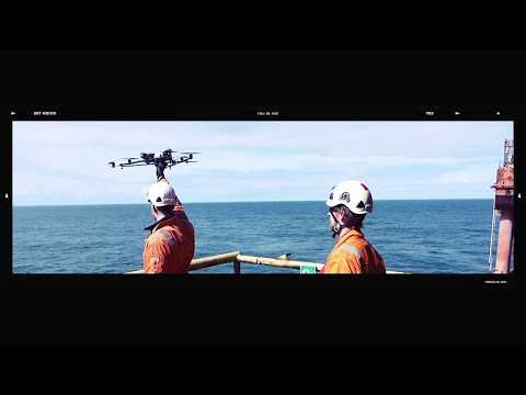 Cyberhawk Drone Inspection