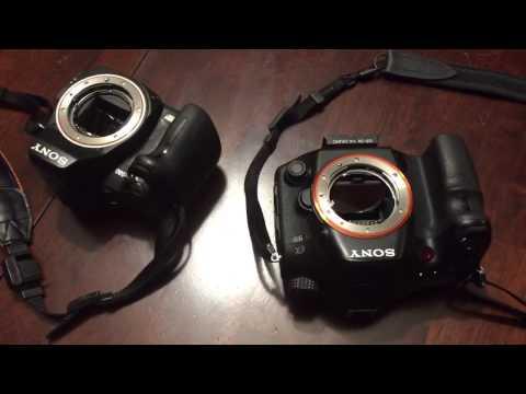 Sony a99 Camera Error