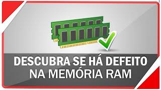Como detectar um defeito em sua memória RAM