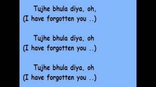 Tujhe Bhula Diya - with Hindi Lyrics and English Translation.