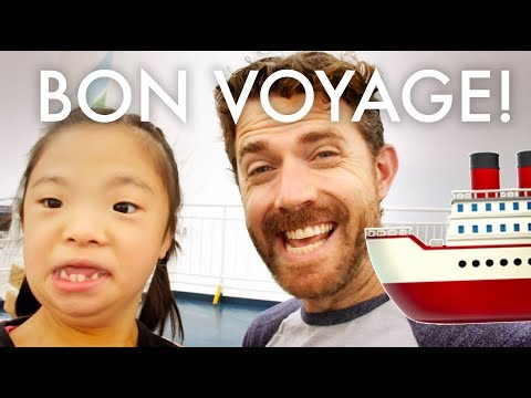 MOVING TO IRELAND BY SEA : Traveling Full-time w/9 kids